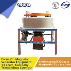 China High Purity Magnetic Separator Machine Iron Powder 30000gs wholesale