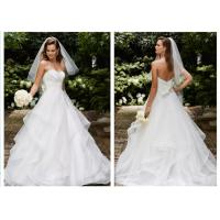 Wholesale Lovely Elegant Ball Gown Style Wedding Dresses With The Graceful Shoulder from china suppliers