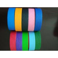Wholesale Crepe Paper Colored high quality Masking Tape Automotive Decorative Masking Tape from china suppliers