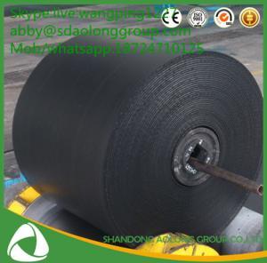 China Iso certify compani EP/CC canvas epdm material chevron heat resisting conveyor belt for concrete wholesale
