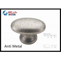 Wholesale Simple Modern Furnituire Knobs Polished Brass Oval Cabinet Handles Zinc Dresser Knobs Black Drawer Pulls from china suppliers