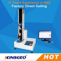 Wholesale 0ne Year Warranty Single Column Computerized Universal Testing Machines 5KN With Metal / Rubber from china suppliers
