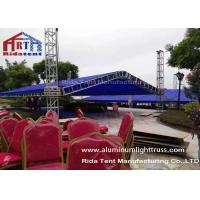 Wholesale A Shape Aluminium Exhibition Truss System 1-4m Unit Length Easy To Set Up from china suppliers