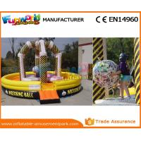 China Hot Inflatable Wrecking Ball Inflatable Sports Games For Children CE Certifivation wholesale