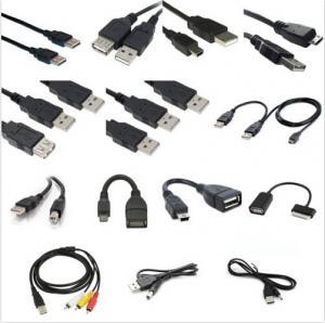 Best quality USB Type A B Micro Mini Printer OTG 3x RCA Cable Splitter Adapter wholesale