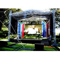 Outdoor Waterproof SMD LED Display , P8 Stage RGB LED Screen