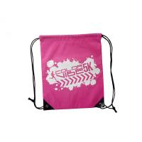Promotional Sports Backpack Polyester Drawstring , Sports Travel Backpack