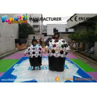 Buy cheap Cary Funny Inflatable Sports Games Sumo Wrestling Suits With Sponge Mat from wholesalers