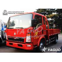 Wholesale HOWO 4x2 ENGINE POWER 140HP, 8CBM, LOAD 10TON CARGO TRUCK from china suppliers