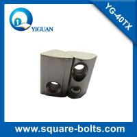 Wholesale roll-in T slot nut with spring loaded ball with high strength carbon steel material from china suppliers