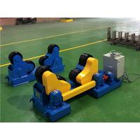 5T welding turning roller    self-alignment  plastic with steel wheels