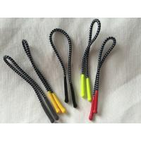 Colorful Silicon Rubber Zipper Puller With 2mm Polyester Elastic Cord