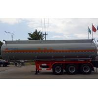 Buy cheap 37m3 Oil Tank Truck For Anti - Corrossive Sodium Hydroxide Sulfuric Acid Nitric Acid from wholesalers