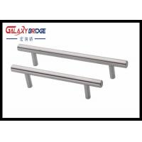 Wholesale Plastic Kitchen Cabinet Drawer Pulls , D Handles Pull Knobs For Kitchen Cabinets Pearl Silver from china suppliers