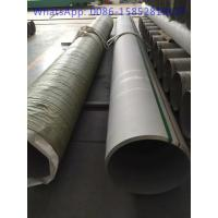 China TP347 DIN 1.4550 Stainless Steel Pipe TP347H Welded SS Pipes For Heat Exchangers wholesale