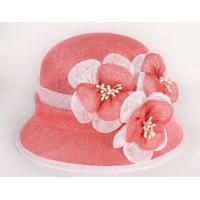 China High Quality Philippe Sinamay Women Party Hat Lady Church Hat wholesale