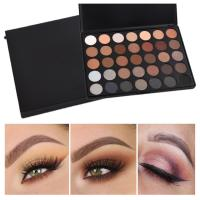 35 Color Mineral Makeup Eyeshadow Custom Makeup Palette Morphe Eyeshadow