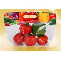 China Plastic Stand Up Pouches With Ziplock , Custom Printed Clear Bags For Food wholesale