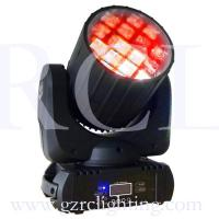 Quality 10W 4-in-1 RGBW CREE LED Moving Head Light With 12bulbs Beam Effect for sale