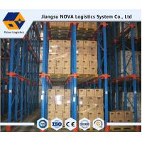 Wholesale ISO, CE Guaranteed Warehouse Storage Drive In Rack , Structural Pallet Racking from china suppliers