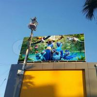 China Outdoor Commercial P16mm High Definition Outdoor LED Screens for IP65 wholesale