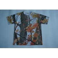 Wholesale Round Neck Custom Printed T Shirts Full Sublimated Polyester With Camouflage from china suppliers