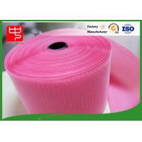 Wholesale Custom Color Wide hook and loop Hook & Loop Fastening Tape 100% Nylon Light Pink from china suppliers
