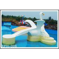 Wholesale Commercial Fiberglass Water Pool Slides with Interesting Cartoon Shaped from china suppliers