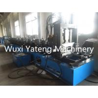 Wholesale Gcr15 80 - 300mm Width Roofing Sheet Roll Forming Machine , Adjustable Standing Seam Roll Former Machine from china suppliers