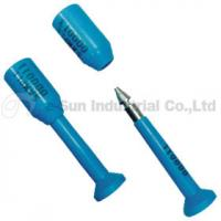 Quality Blue Numbered Container Security Seals With Steel Pin , ISO PAS 17712 for sale