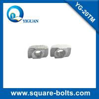 Wholesale 20 series of T slot nut, hammer head nut for aluminum profile connection from china suppliers