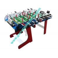 4 FT Folding soccer table wood foldable soccer table for family play