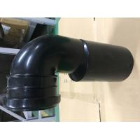 Toilet Black Plastic Drain Pipe For Hang Wall Type Toilet Seat To Hide Water Tank Fittings