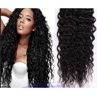 Quality Real Curly Human Hair Extensions Double Knots Soft For Dream Girl for sale