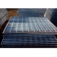 Electro Galvanized Metal Grating 25 X 3mm Oil Proof For Building Material