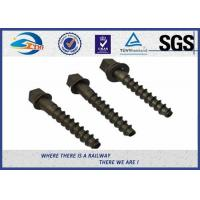 China 5.6 Grade 35# Screw Spike DIN Standard High Hardness with ZHONGYUE Brand wholesale