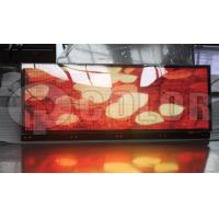 China Outdoor P5 SMD Full Color Led Bus Display Lightweight , Shockproof wholesale