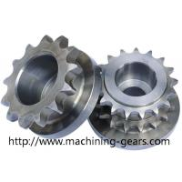 China High strength Chain Sprocket Wheel 0.03mm Tolerance Stable Performance wholesale