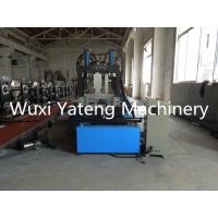 Wholesale Panasonic PLC Control CZ Purlin Roll Forming Machine Quick Changing Size High Forming Speed from china suppliers