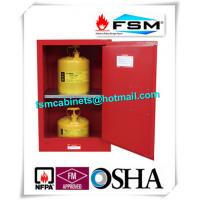Durable Fireproof Paint Storage Lockers 12 Gallon For Combustible Liquid
