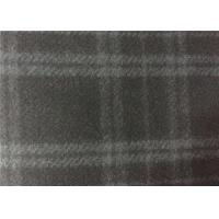 580g/M Dark Navy Color Melton Wool Fabric For Fashion Woman Coats