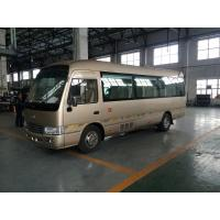 China 7.5M Length Golden Star Minibus Sightseeing Tour Bus 2982cc Displacement wholesale