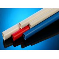 White / Blue Color UPVC Electrical Conduit 2 Meters For Wire Protecting
