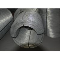 China Dia. 1.20mm - 3.50mm Electro Galvanized Wire , Zinc Coated Steel Wire wholesale