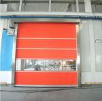 Rapid Automatic Roll Up Door , Industrial High Speed Door For Warehouse