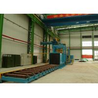 High Power Roller Conveyor Shot Blasting Machine For Steel Plate Materials