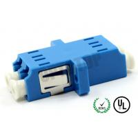 UPC End Face Fiber Optic Accessories , Plastic Fiber Optic Cable Adapter