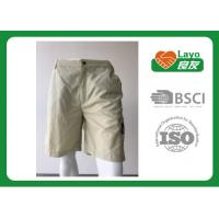 Wholesale 100% Polyester Waterproof Solid Color Quick Dry Pants For Camping / Running L-030 from china suppliers