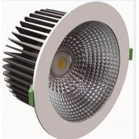 Quality IP20 CRI 80 Energy Saving Dimmable COB LED Down Light 1950 Lumen 32W For Hotels for sale