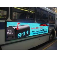 China Outdoor SMD Led Bus Display LED Signs Decoration wholesale